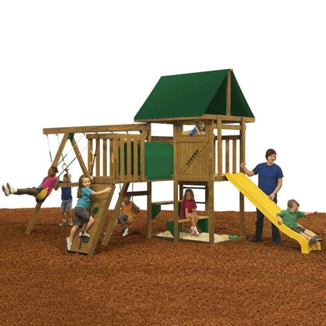 playstar swing set reviews playstar legend qualifier ready to assemble playset kt