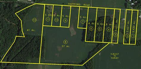 acre land vacant land auction 8 acre wooded lot sunbury