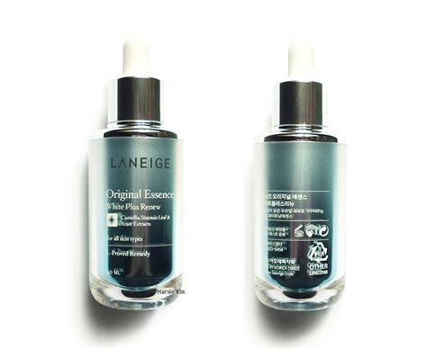 Laneige Essence laneige original essence white plus renew review marxie