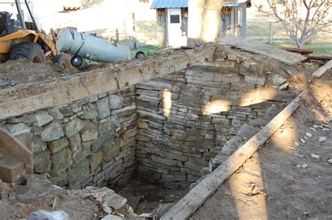 The Time Cellar reuse it building a root cellar out of an
