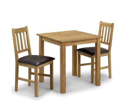 Oak Kitchen Table And Chairs by Belstone Square Oak Kitchen Table And 2 Chairs Uk Delivery