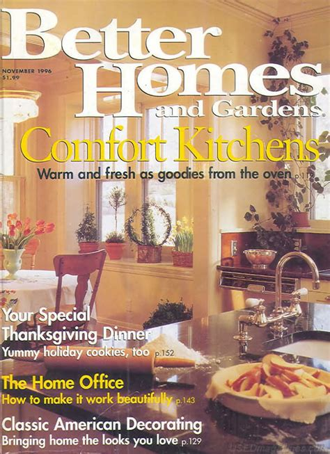 backissues com better homes and gardens november 1996