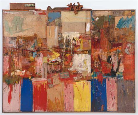 the art of robert robert rauschenberg collection 1954 1955 183 sfmoma