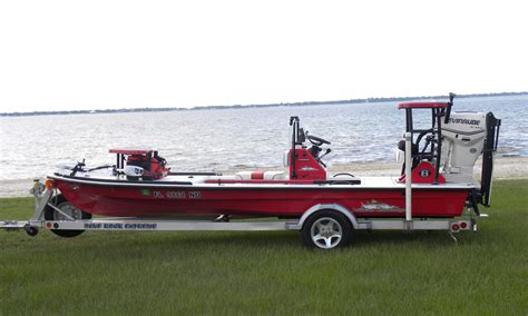 skiff hook beavertail skiff osprey fully loaded red 2009 the