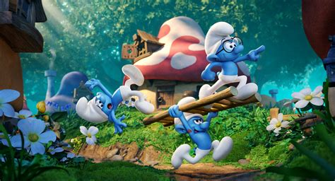 smurfs the lost smurfs the lost hd wallpapers
