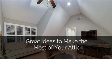 great ideas to make the most of your attic home