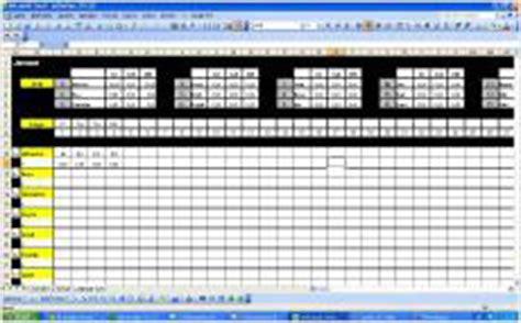 Kostenlose Vorlagen Excel Kostenlose Dienstplan Vorlagen F 252 R Excel Software