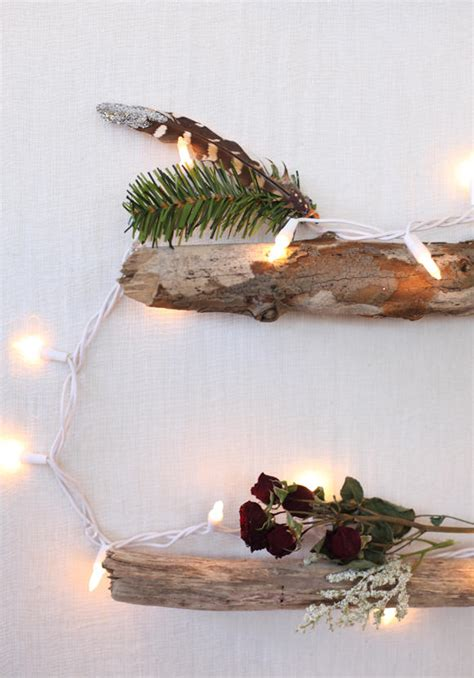 christbaum alternative diy christbaum an der wand at