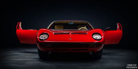 Lamborghini Miura Doors Open This One Goes Out To All Those With A Appreciation