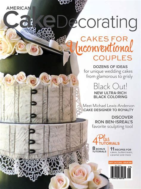 American Cake Decorating Magazine by American Cake Decorating A Supah Cool Cake Magazine