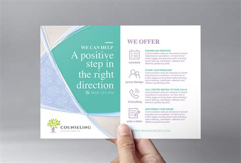 therapy brochure templates counseling brochure templates thevillas co