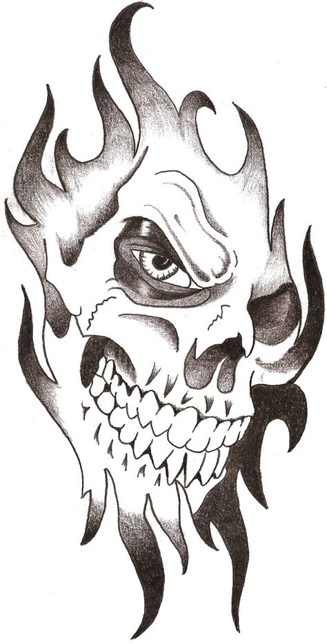 grim reaper n lady skull tattoo design on sleeve real