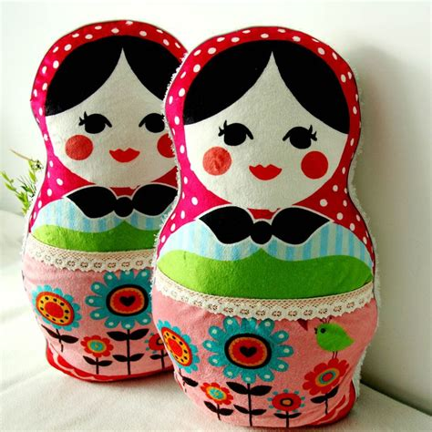 Nesting Doll Pillow by Russian Nesting Doll Russian Nesting Doll Pillows