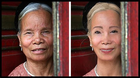 old men make overs extreme photoshop makeover 80 year old lady to young