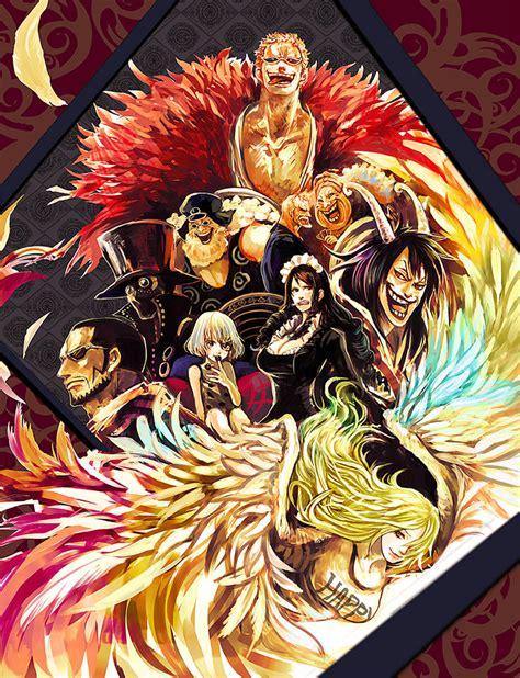 wallpaper doflamingo family the donquixote family by ssjraging on deviantart