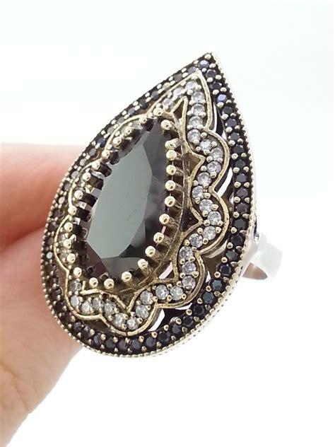 Handmade Turkish Jewelry - turkish jewelry 925 sterling silver handmade ring multi