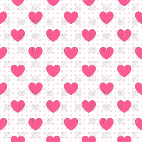 pink heart pattern background white seamless wallpaper with pink hearts royalty free