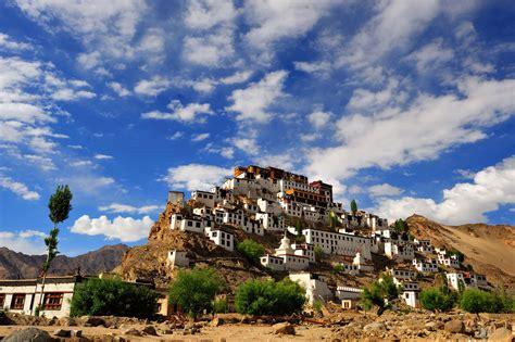Thiksey monastery near leh