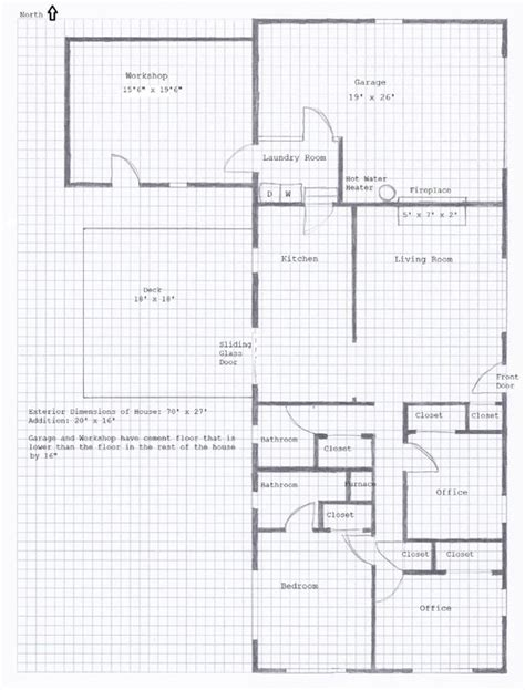graph paper for floor plans grid paper for drawing house plans
