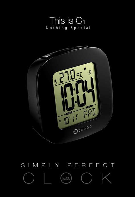 Digite Dg 2114 Black Original digoo dg c1 multifunctional electronical lcd digital alarm clock