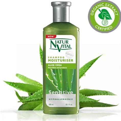 Natur Hair Mask Aloe Vera 15ml sensitive shoo moisturiser best sensitive shoo naturvital hair care products
