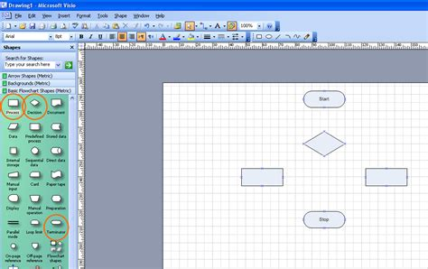 visio connection point tool visio เทคน คการใช connector tool เช อมต อ flowchart