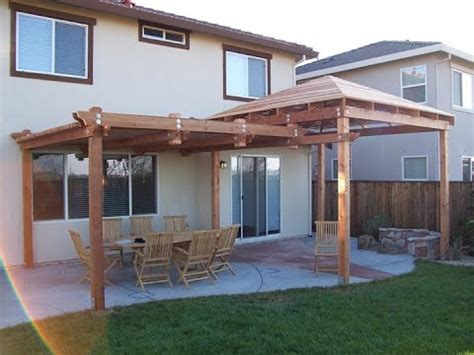 how to build a patio cover patio cover that make your backyard more comfortable