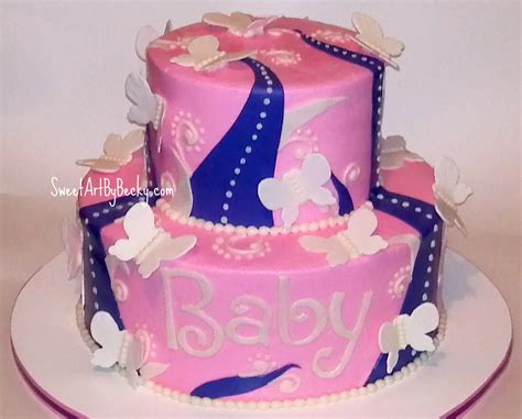 Pink And Lavender Baby Shower by Chattanooga Cleveland Dayton Wedding Birthday Cakes