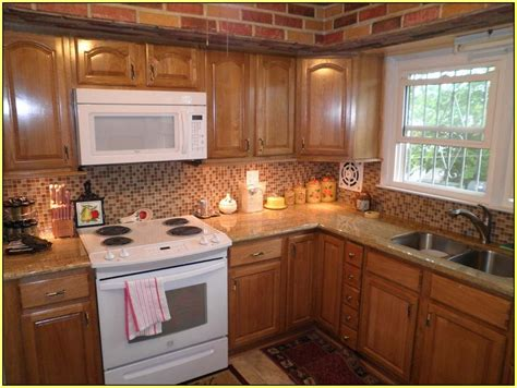 Oak Cabinets Kitchen Design kashmir gold granite countertops home design ideas