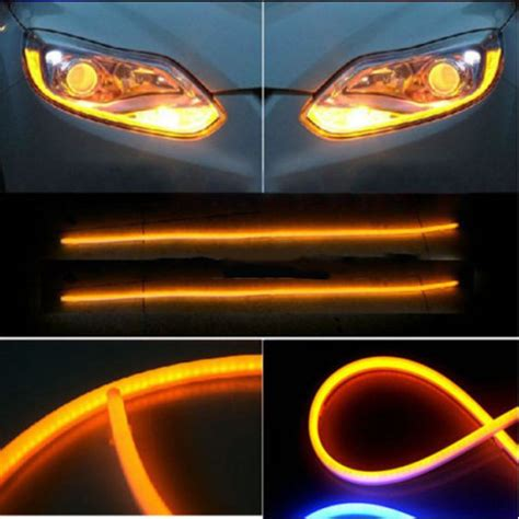 Auto Led Light Strips 12v Motorcycle Auto Guide Led Turn Signal Light Alex Nld