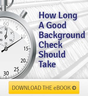 What Is A Certified Criminal Record Check How A Background Check Should Take
