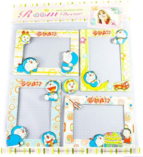 Wallsticker Doraemon 2 the souq doraemon 3d photo frame wall sticker set of 4 price in india buy the souq doraemon 3d
