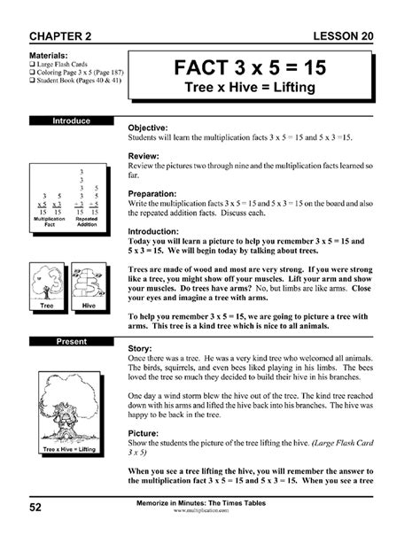 printable lesson plans for 5th grade multiplication lesson plan for 4th grade using a