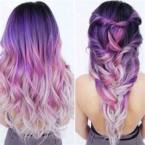 light purple hair color best ombre hair 41 vibrant ombre hair color ideas