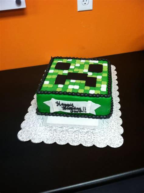 minecraft cake designs minecraft cake cake idea