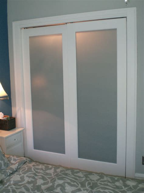 Bifold Closet Doors With Frosted Glass Bifold Frosted Glass Closet Doors Home Design Ideas