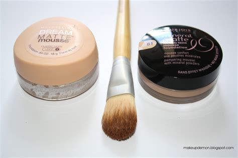mousse make up makeup maybelline matte mousse vs bourjois