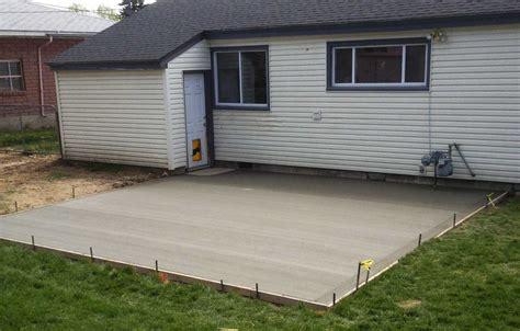 How To Do A Concrete Patio by Plain Concrete Patio Home Design Roosa