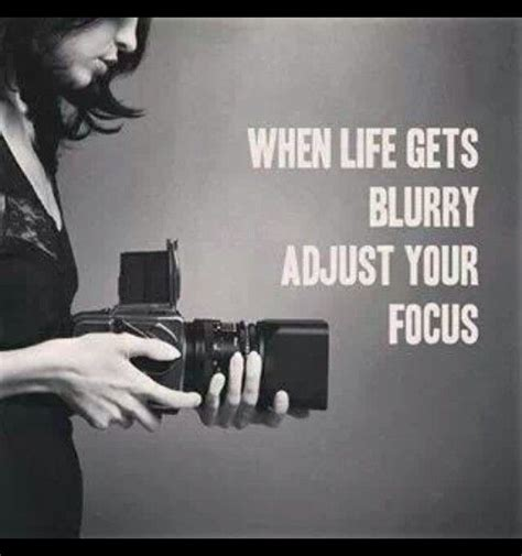 Poster Typografi Inspiratif If You Never Try You Ll Never quot when gets blurry adjust your focus quot