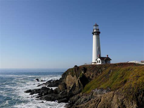 Light California by Pigeon Point Lighthouse Big Sur California Dukesilas S