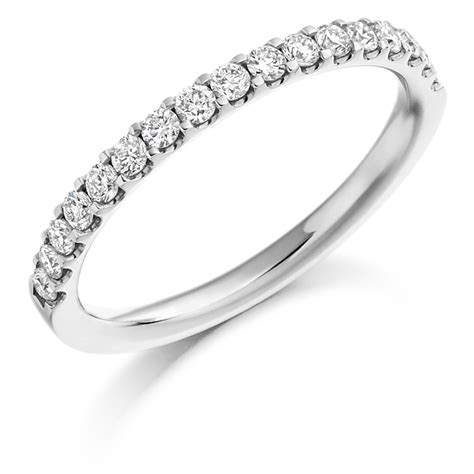Eternity Ring by Micro Claw Set 0 33ct Half Eternity Ring Reppin