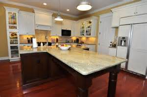 t shaped kitchen islands a t shaped island is perfect for entertaining guests