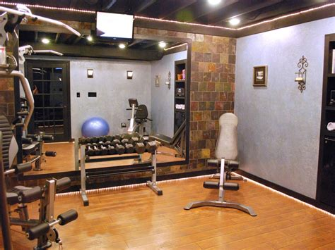 decorating a home gym home gyms in any space decorating and design ideas for