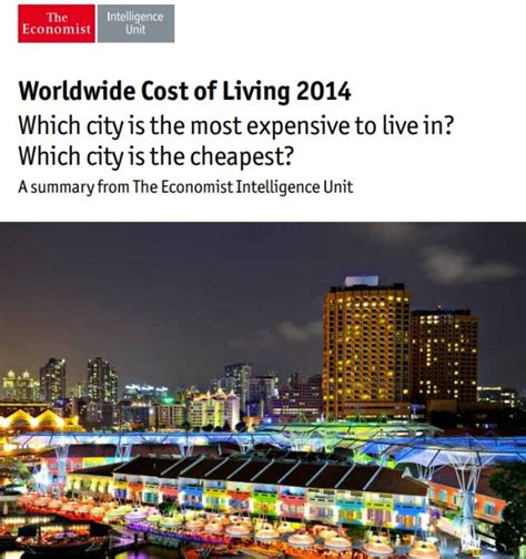 100 cheapest place to live in us economist the economist the worlds most expensive cities to live