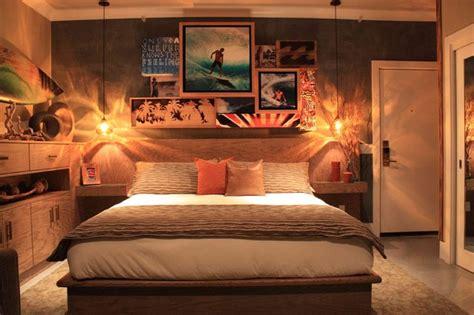 surf bedroom decor casa surf project billabong men s suite la casa del