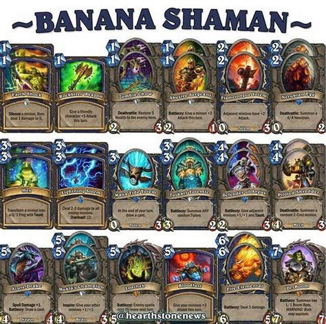 shaman deck 17 best images about hearthstone decks on