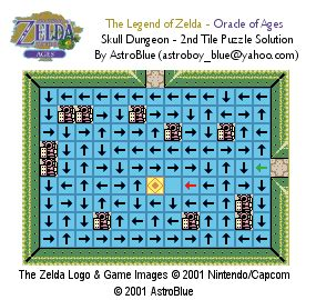 legend of zelda tilemap the legend of zelda oracle of ages skull dungeon tile