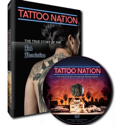 tattoo nation movie dvd dvd gt tattoo nation the true story of the ink revolution