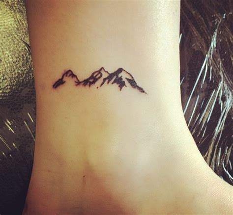 40 cute small tattoo ideas for girls tattoo mountain
