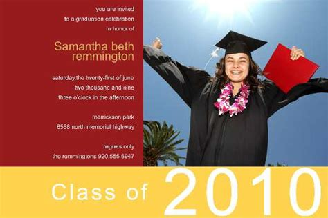 Free Photo Templates Graduation Announcement Free Graduation Announcements Templates Downloads